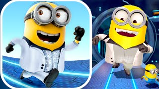 getlinkyoutube.com-DISCO MINION!! Despicable Me: Minion Rush (iPhone Gameplay)