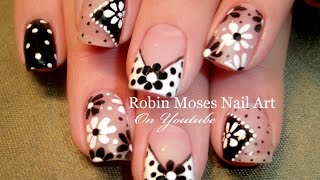 getlinkyoutube.com-DIY Easy Dot Flower Nail Art for Beginners! | Cute Daisy Nails Design Tutorial