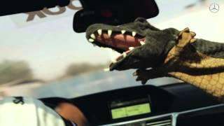 getlinkyoutube.com-تجربة التمساح لسيارة مرسيدس بنز