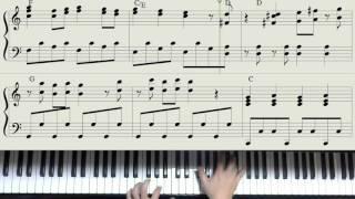getlinkyoutube.com-「アンパンマンたいそう」ピアノ・ソロ(楽譜動画)