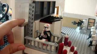 getlinkyoutube.com-lego star wars clone base moc