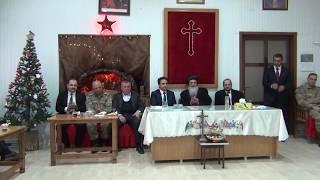 Midyat'ta ki Süryaniler Noel'i Kutladı