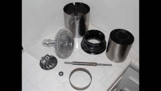getlinkyoutube.com-''FREE X80 PLANS''  How to Build a Micro Jet turbine Engine