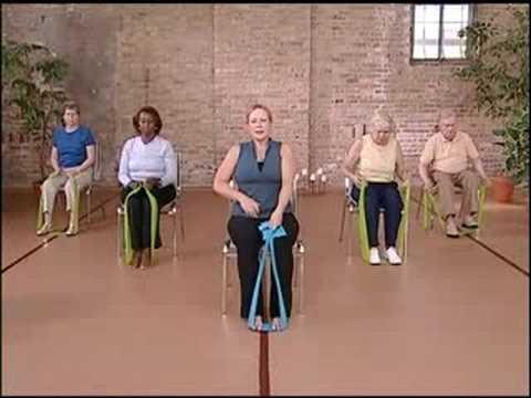 Stronger Seniors Core Strength Resistance Workout