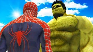getlinkyoutube.com-BIG HULK VS SPIDERMAN - THE INCREDIBLE HULK VS SPIDER-MAN (2002)