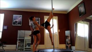 getlinkyoutube.com-10 yr old Pole Dancer - Char