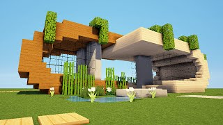 Download video: Minecraft HD - Maison moderne n°1 ! 1/2