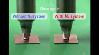 N2 system; improved wettability with N2 system
