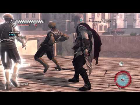 Assassins Creed Brotherhood - Cristina mission 3 walkthrough [HD]