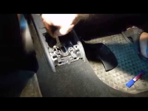Регулировка стояночного тормоза (ручника) Фольцваг