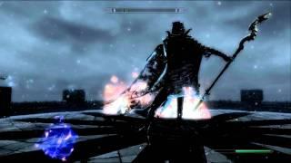 getlinkyoutube.com-Skyrim, illusionist versus All Dragon Priests