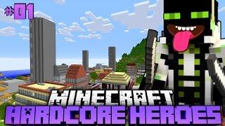 getlinkyoutube.com-KAMPF um LEBEN und BROT?! - Minecraft Hardcore Heroes 2 - #01 [Deutsch/HD]
