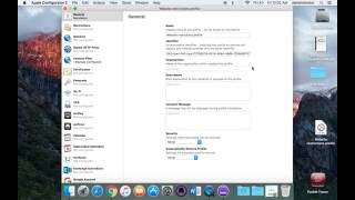 getlinkyoutube.com-Creating profile on Apple Configurator 2
