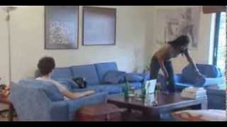 White Man gets robbed by Prostitute - Nigerian Nollywood Movie Clip width=