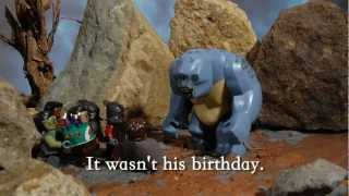 getlinkyoutube.com-LEGO Frodo's Birthday Surprise