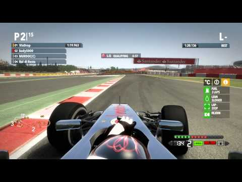 F1 2012 - PRO Liga - Assist Off - Barcelona - Idmr