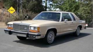 getlinkyoutube.com-1 Owner 1983 Ford LTD Crown Victoria Coupe 34k Orig miles MINT