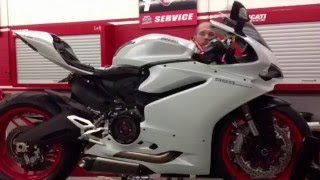 getlinkyoutube.com-Dave putting some goodies on the new Ducati 959 Panigale