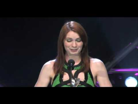 Felicia Day the Guild Wins Best Female Actor In A Comedy W