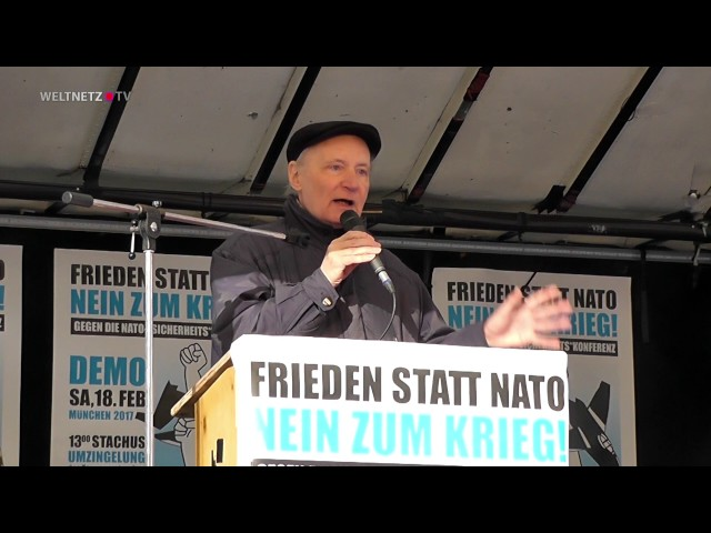 Eugen Drewermann: Die NATO ist die schlimmste Kriegsmaschinerie