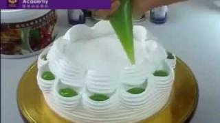 getlinkyoutube.com-Quenary Academy Clay art cakes decoration 陶艺蛋糕装饰 4 - YouTube.mp4