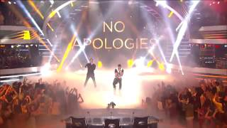 getlinkyoutube.com-Jussie Smollett and Yazz from Empire - No Apologies - American Idol 2015