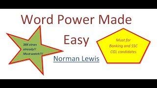 getlinkyoutube.com-Video 1 Word Power Made Easy