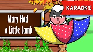 getlinkyoutube.com-Mary Had a Little Lamb karaoke lyrics | Nursery Rhymes For Kids | Ultra HD 4K Video Songs