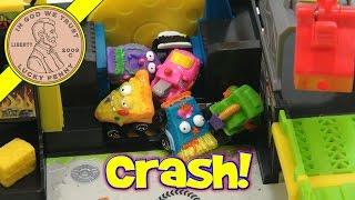 getlinkyoutube.com-The Trash Packs - Trash Wheels Junk Yard Set, Moose Toys