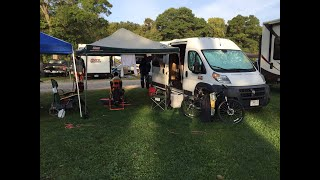 RAM ProMaster Stealth Camper Van Tour
