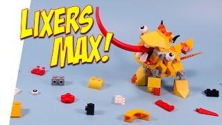 getlinkyoutube.com-Lego Mixels Series 5 Lixers Max Spugg Turg & Tungster Opening