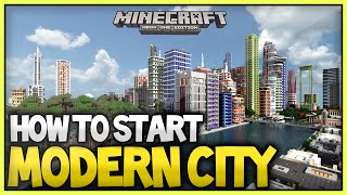 getlinkyoutube.com-Minecraft Best Way To Build/Start A Modern City - 2015/2016 (XboxOne/Xbox360/Ps3/Ps4)
