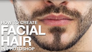 getlinkyoutube.com-How to Create Facial Hair in Photoshop