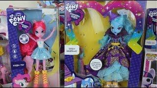 getlinkyoutube.com-Muñecas My Little Pony Equestria Girls Pinkie Pie y Trixie LulamoonJugutes de MLP