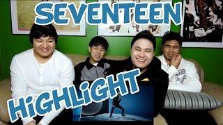 getlinkyoutube.com-SEVENTEEN - HIGHLIGHT MV REACTION (FUNNY FANBOYS)