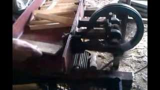Kindling machine for fire starting sticks
