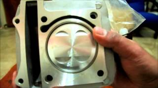 getlinkyoutube.com-68mm Cylinder block kit for Suzuki Raider, Belang, Satria 150