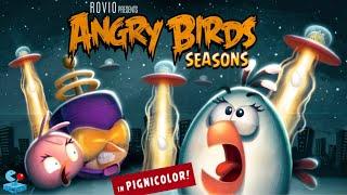 getlinkyoutube.com-Angry Birds Seasons: Biggest Update! - New Power Birds, New Levels and New Bird Coins.
