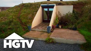 getlinkyoutube.com-Bunker Living in Modern World - HGTV