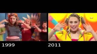 getlinkyoutube.com-Hi-5 Five Senses (senses/about me)  Then and Now
