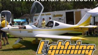 getlinkyoutube.com-Lightning, Lightning light sport aircraft, experimental lightsport aircraft by Arion Aircraft