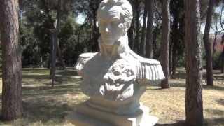 EL MONTE SACRO EN ROMA, SITIO DEL JURAMENTO DE SIMON BOLIVAR.