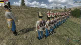 getlinkyoutube.com-Mount & Blade: Warband - Napoleonic Wars Line Battle #6