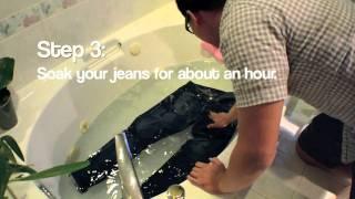 getlinkyoutube.com-How To Wash Raw Denim Jeans - ABCDENIM