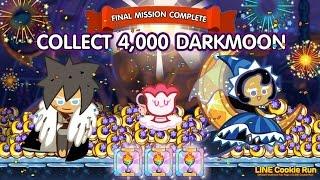 getlinkyoutube.com-CookieRun [Challenge] เก็บเยลลี่พระจันทร์เสี้ยว 4,000 ชิ้น Dark Moon 4,000 Jellies | xBiGx