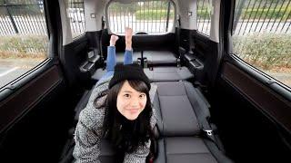 西村麻依とエスクァイアで行く埼玉ドライブデート #3 後部座席でごろごろ編