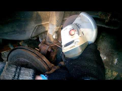 Замена задних пружин и амортизаторов Chevrolet Lacetti универсал