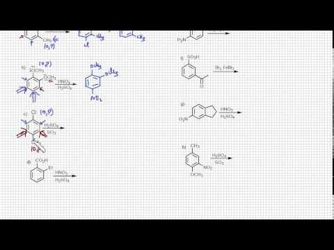 Problema 3. Reacciones del benceno