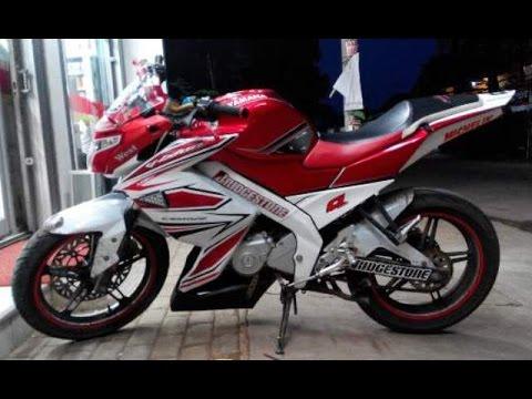 Motor Trend Modifikasi | Video Modifikasi Motor Yamaha New Vixion Lightning Striping Terbaru
