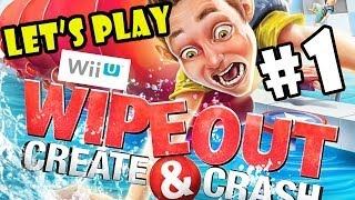 getlinkyoutube.com-Let's Play Wipeout: Create and Crash pt.1 - Second Helpings - 4 Player WiiU Co-Op